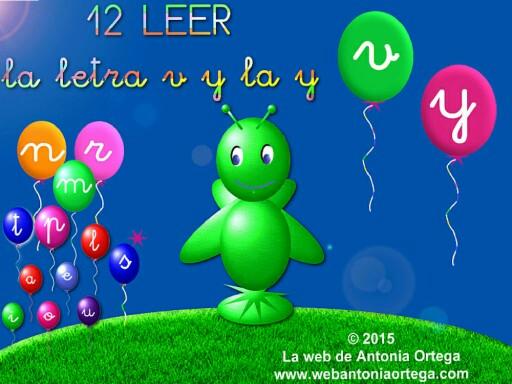 12 LEER Y V by Antonia Ortega López