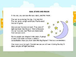sun, stars and moon by Bayan Ali