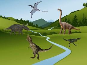 Dinosaurios, nombres y características by Lore Hernández