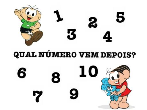 Qual número vem depois? by Tobrincando Ufrj