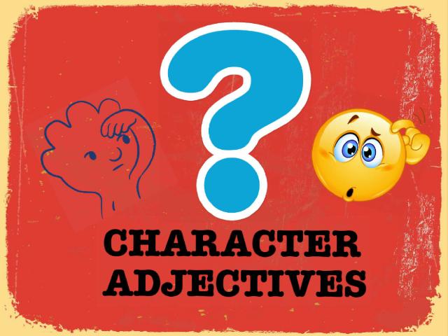 Character adjectives by Andriana Andrijević