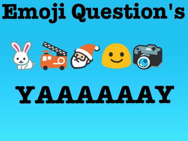 Emoji Question's by Twilight Sparkle