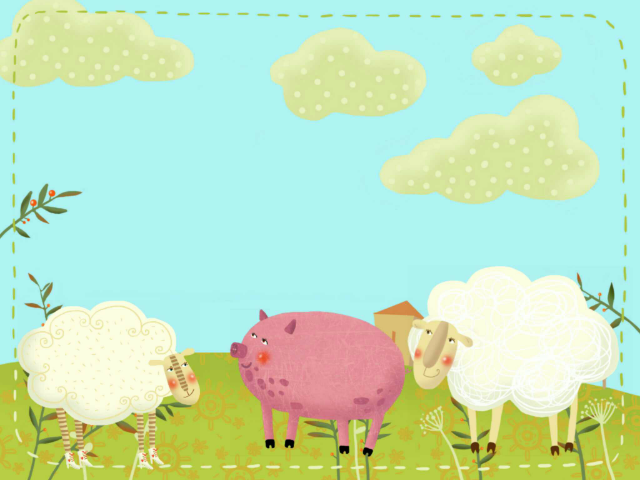 مقابلة الخروف والخنزير by أم بشرى برناوي