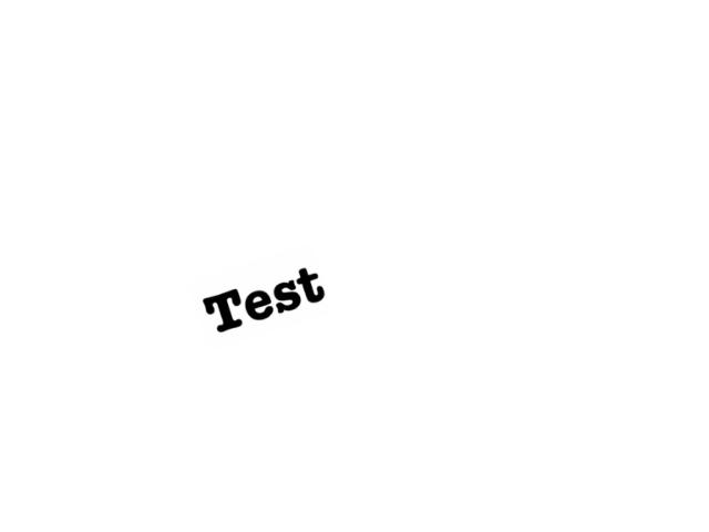 Test by Vanessa Mantoan