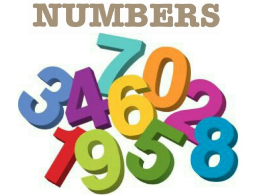 Numbers 1-10 by Andrey Nikolayenko
