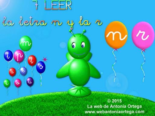 7 LEER N Y R by Antonia Ortega López