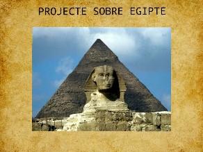 Projecte Egipte by Laura Romero villas