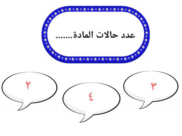 علوم اول متوسط . حالات المادة  by Lona Alotaybi