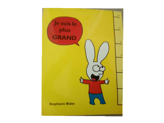 Je suis le plus grand by Lucie Ed