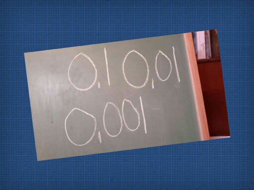 Counting/Determining Decimals by Scott Stephen Jones