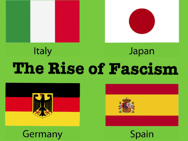 The Rise of Fascism by Nicole  Cobb