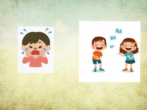 Lachen und Weinen 1 by Waltraud Mundelius