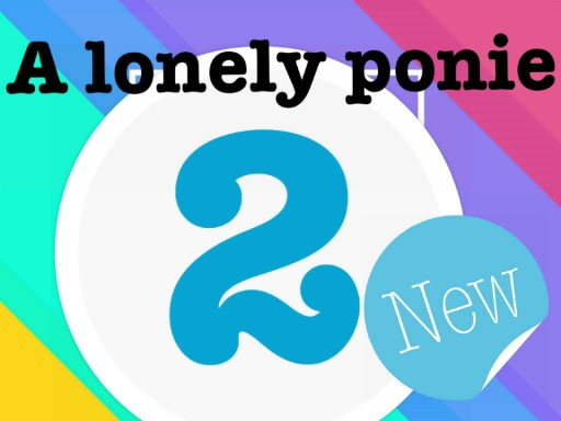 A lonely ponie 2 by george dale