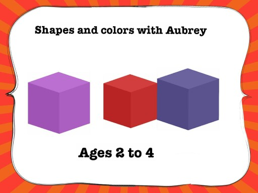 shapes and colors with aubrey! by ebony fant