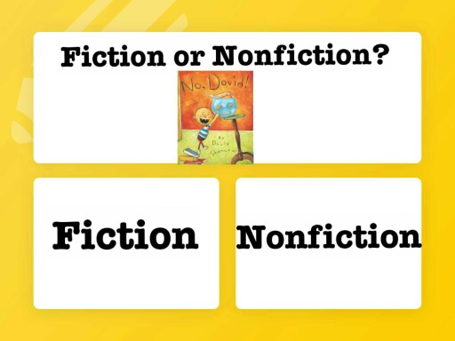 Fiction or Nonfiction? by Kim Wheeler