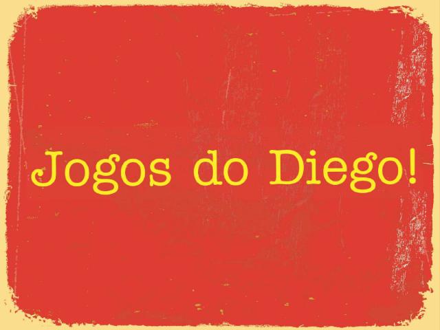 Jogos do Diego by Aline Morais