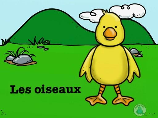 Les oiseaux by Laetitia Balva