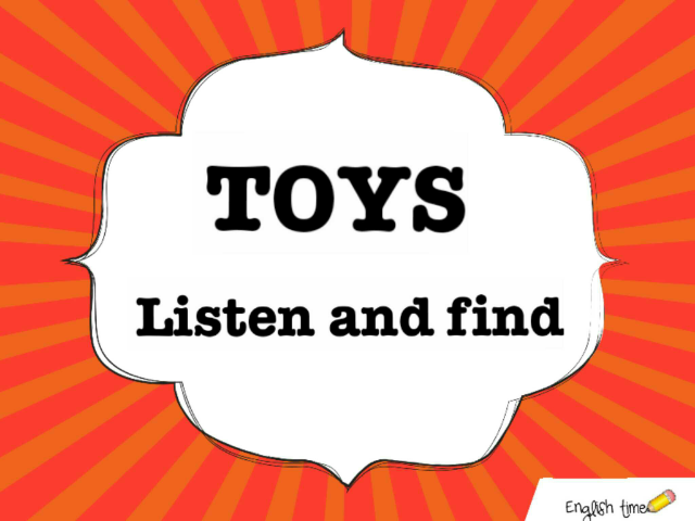 toys ~ listen and find by Cecilia Zezlin