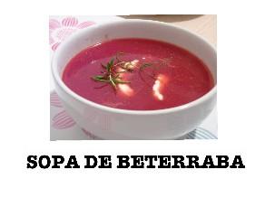 sopa de beterraba by Mary Andrioli