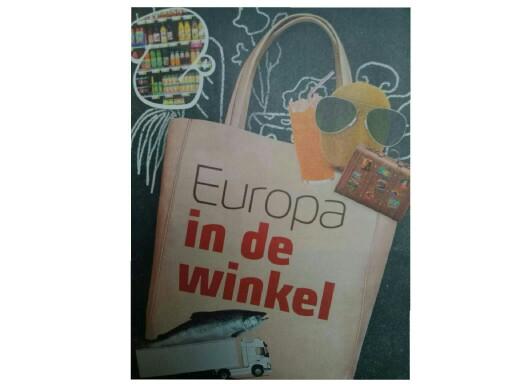 Europa in de winkel by Gino Vanherweghe