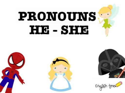 pronouns ~ he or she by Cecilia Zezlin