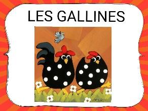 LES GALLINES by Alumnes espiga