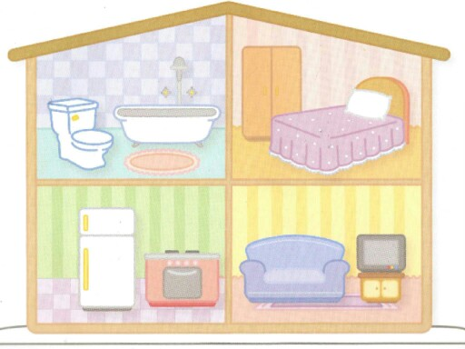 L2 Parts of the house and household objects by MFL Academy