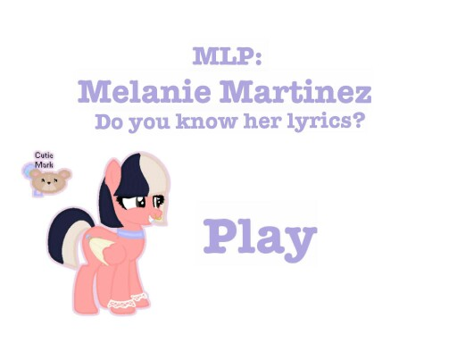 MLP: Melanie Martinez by Fluttershy <3
