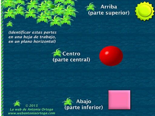 ARRIBA CENTRO ABAJO by Antonia Ortega López