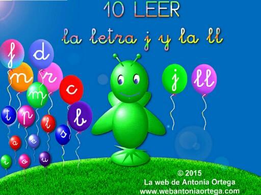 10 LEER J Y LL by Antonia Ortega López