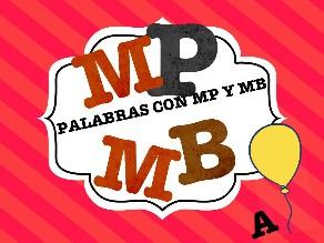 Palabras con MP y MB by Colegio Jaby