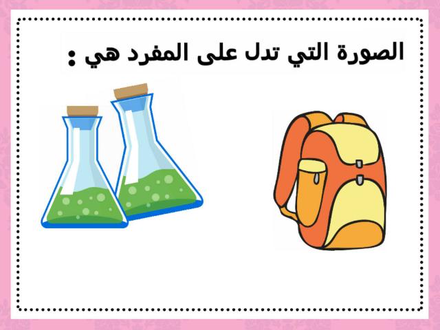المفرد و المثنى  by see laife
