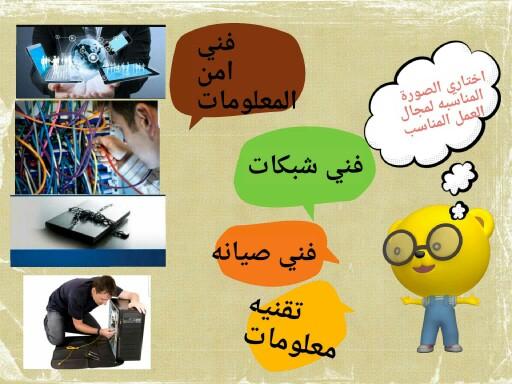 تطبيق مهن حاسب by وفاء الصاعدي