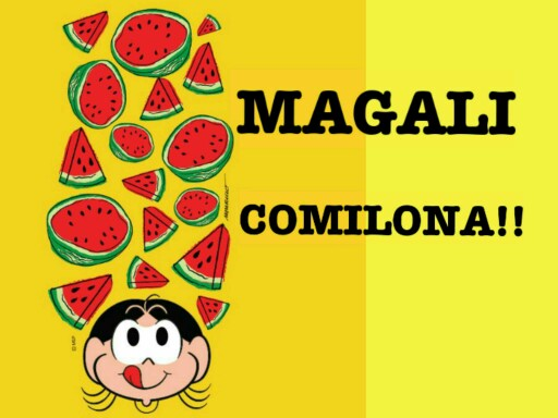 Magali Comilona by Tobrincando Ufrj