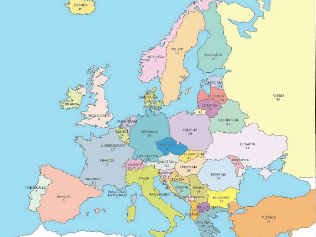 puzzle europa by Giuseppe Fazio
