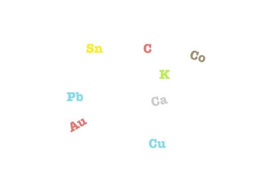símbolos quimicos by Roberto Rodríguez