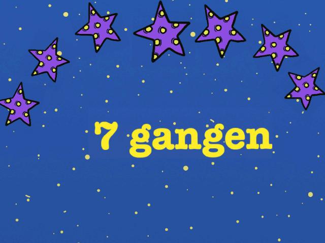 Øve på 7 gangen by Janne Eriksen