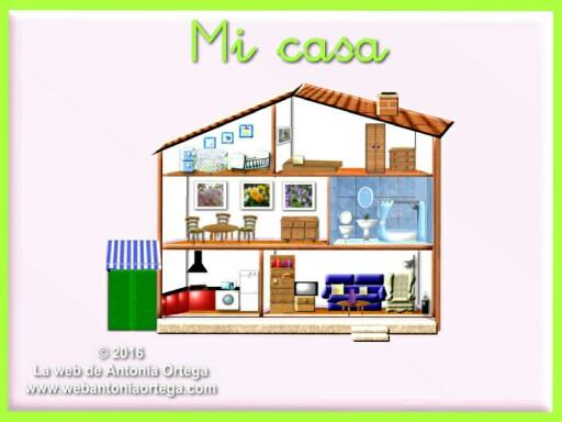 Mi casa by Antonia Ortega López