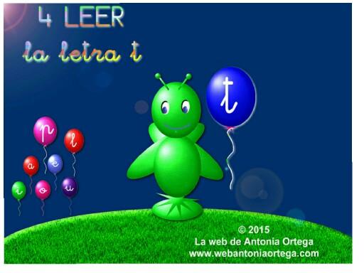 4 LEER T by Antonia Ortega López