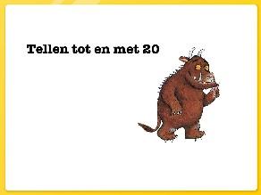 Gruffalo tellen tot en met 20 by Jeannette Oosterom