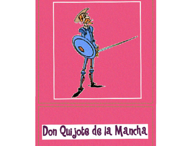 Don Quijote I by Eva Garcia Nieto
