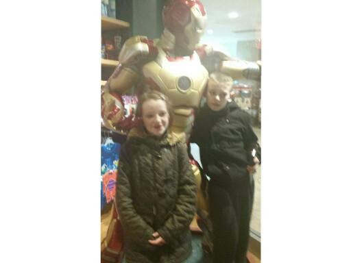 Iron Man  by mcpake family