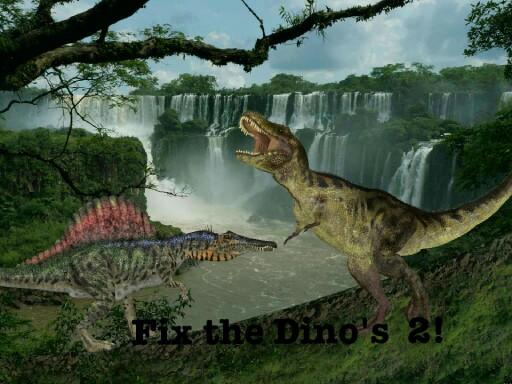 Fix the dinos 2 by Shawn Gurganus