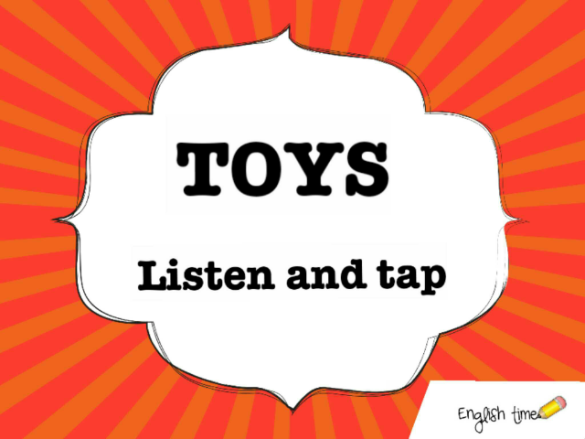 toys ~listen and tap by Cecilia Zezlin