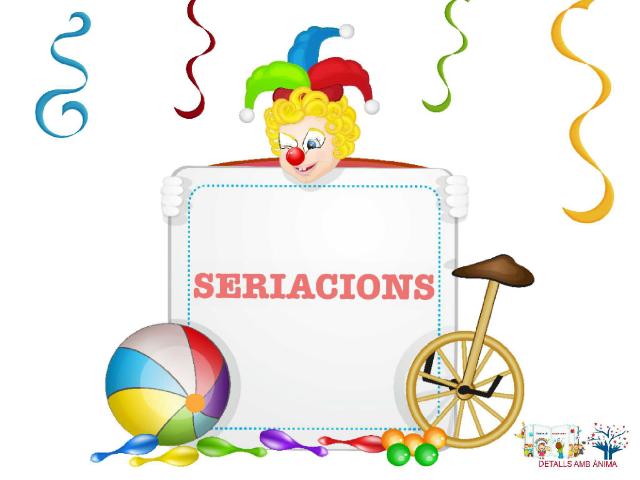 SERIACIONS - CIRC by Detalls amb ànima