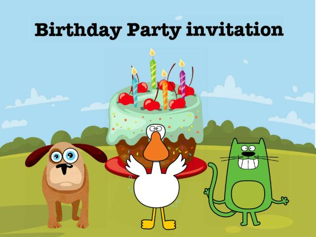 Party Invitation by Nga Nin Alina Lo