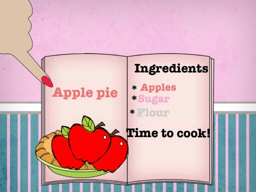 mommy's cook book apple cake for christmas by azael mariscal