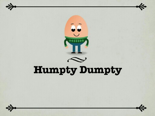 Humpty Dumpty by Kevin Cook