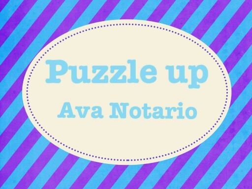 puzzle up by ava notario