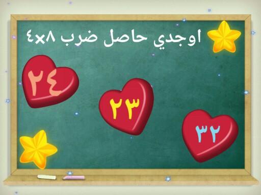 حفظ جدول الضرب.  by Rana Sheref